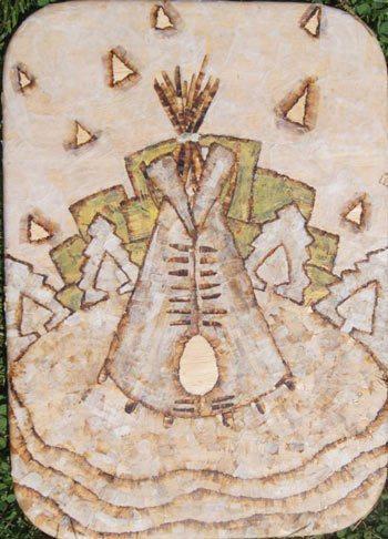 Roach-Paper-Art---Teepee