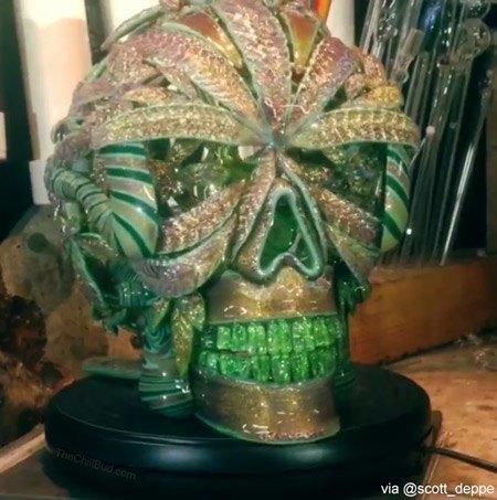 Scott-Deppe-Gold-Skull-Bong2