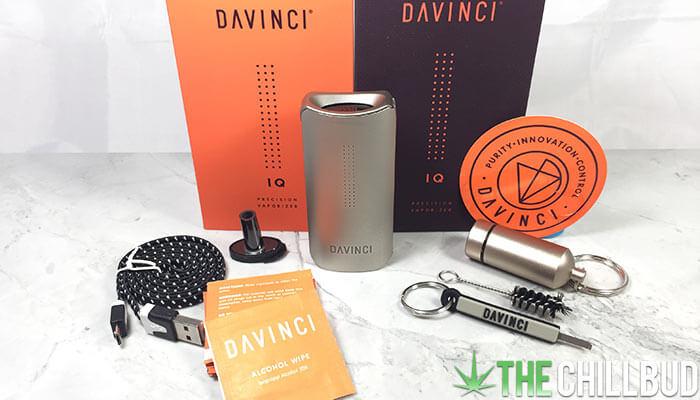 Davinci-IQ-vaporizer-unboxing