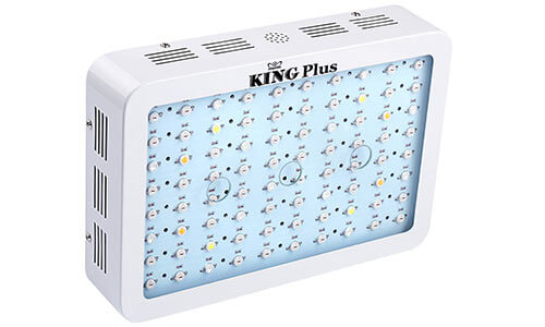 king plus offer good led grow lights that are quite affordable wattages range between 600w and 1200w and feature a double led chip that
