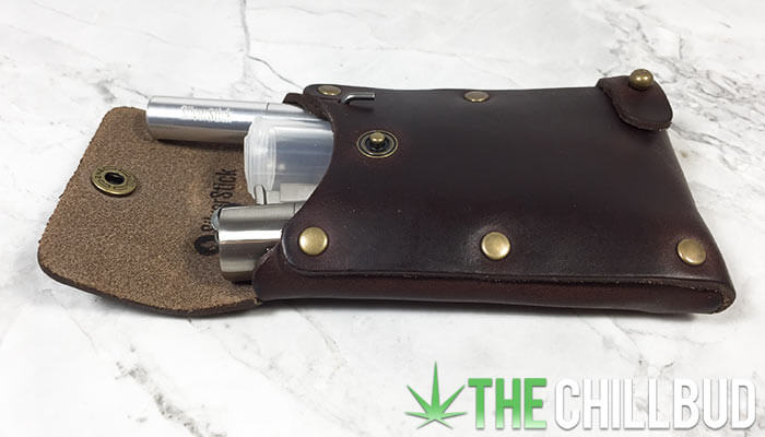 Leather-Dugout-One-Hitter-Silver-Stick-Review