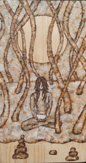 Roach-Paper-Art-Meditation