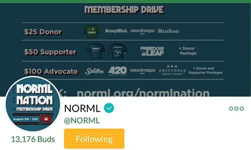 NORML-Mass-Roots-Account