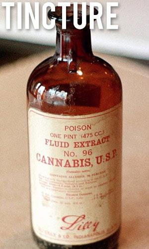 Cannabis-Tincture