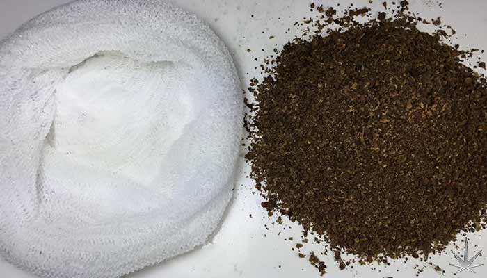 Placing-AVB-in-cheesecloth-pouch-for-water-curing