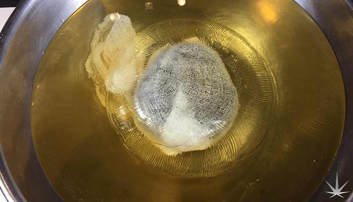 Water-curing-already-vaporized-bud-AVB-soaking