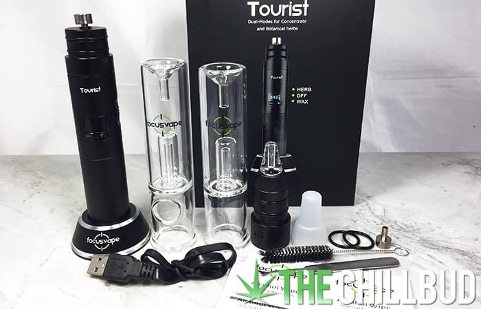 FocusVape-Tourist-unboxing-e-rig-and-herb