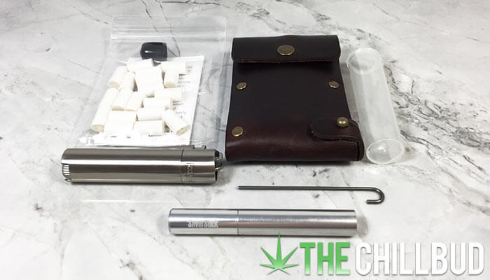 Silver-Stick-Leather-Dugout-Model-One-HItter